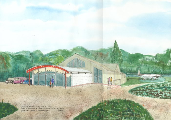 Proposed extension to Museum of Berkshire Aviation