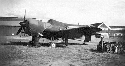 Martinet MS930 at RAF Gardenmoen