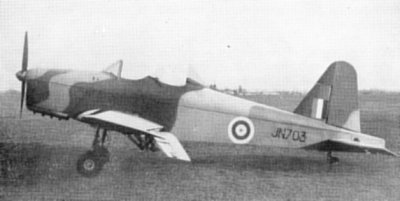 Miles M.18HL Research Aircraft